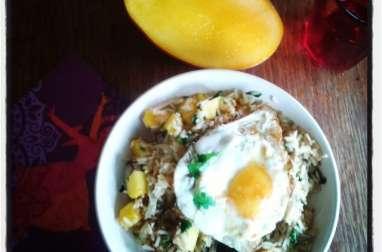 Riz frit façon Kow Pad thaï