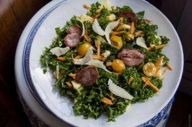 Salade d'automne au kale