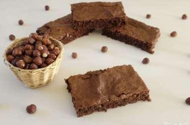 Gâteau chocolat noisette aux blancs d'oeufs