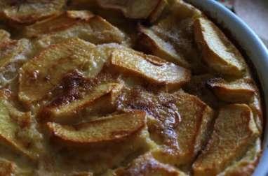 Far Breton aux pommes et Vanille