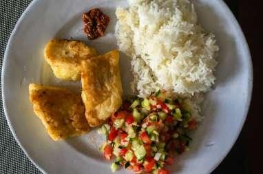 Poisson frit à l'ivoirienne