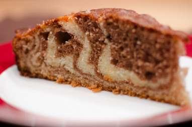 Zèbra cake