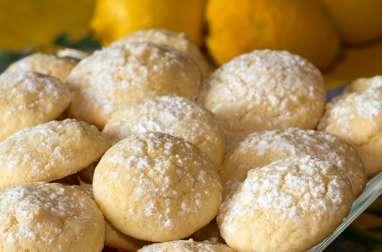 Biscuits moelleux au citron et à l'huile d'olive