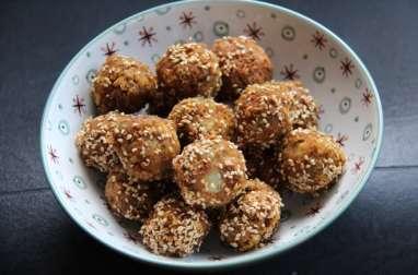 Falafels aux graines de sésame