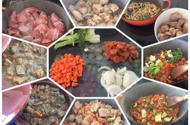 Tajine de veau aux épices et aux abricots