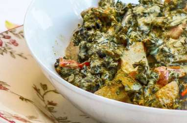 Curry de chou kale