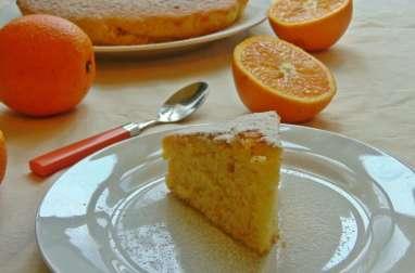 Schiacciata Fiorentina, gâteau à l'orange.
