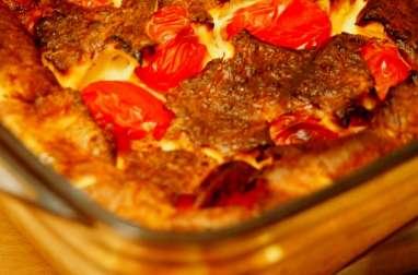 Clafoutis Tomates cerises et Gouda