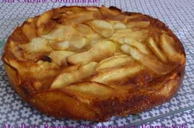 Moelleux aux Pommes et Caramel au Beurre Salé Régilait