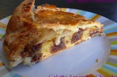 Crème d'amande et Chocolat, pâte feuilletée maison