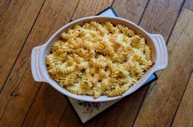Un gratin de pâtes comme un mac and cheese
