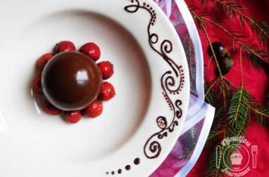 Sphère Surprise au Chocolat