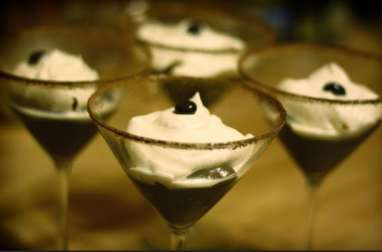 Verrines façon tiramisu à la liqueur de café et cacao