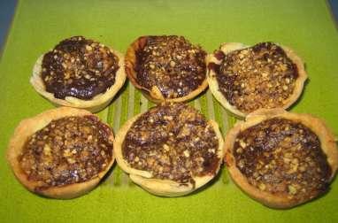 Les petits pâtés chocolat-nougatine d'Eva