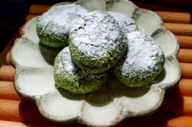 Macarons au thé vert