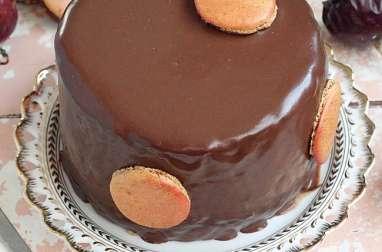 Mogador vertical cake