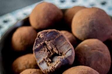 Truffes au chocolat noir et au whisky alsacien
