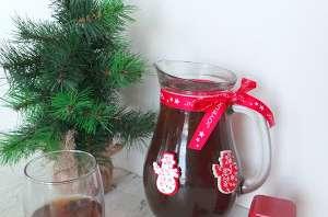 Thé glacé de Noël aux épices