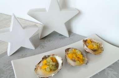 Huîtres aux agrumes et aneth