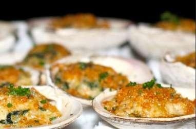 Coquilles au saumon spéciales réveillon de la Saint-Sylvestre