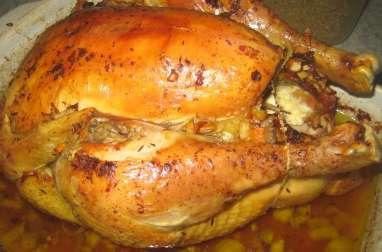 Chapon cuisson basse température