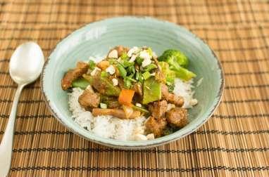 Boeuf Curry Rendang aux noix de cajou