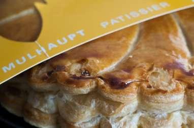 La galette vosgienne vanille et myrtilles de Thierry Mulhaupt