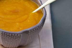Soupe de carotte miel gingembre