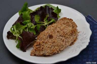 Filet de poulet en croûte d'amandes