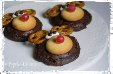 Cookies tout choco version Rudolph le renne