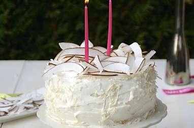 Gâteau des anges citron coco
