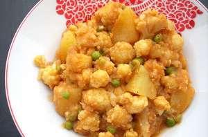 Aloo Gobi / Curry de Chou Fleur & Pommes de Terre