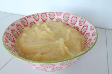 Purée de fenouil, pommes et pommes de terre