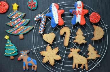 Biscuits de Noël aux fruits secs