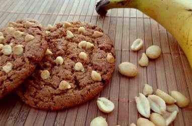 Cookies au beurre de cacahuète et banane