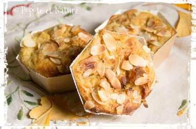Mini Puddings aux pommes caramel et au gingembre confit