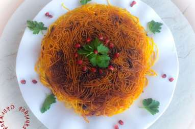 Spaghetti à la Perse et Tahdig
