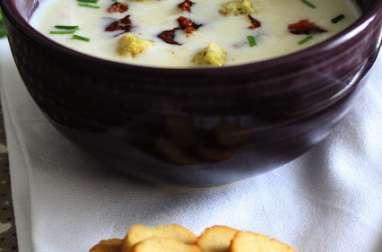 Soupe de chou-fleur au lait