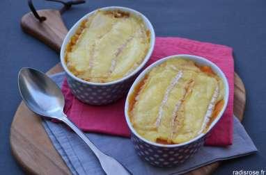 Lasagnes butternut, patate douce et Pont l'Evêque