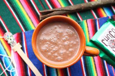 Champurrado: chocolat chaud mexicain
