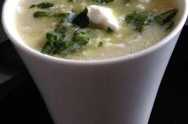 Soupe au chou blanc et pommes de terre
