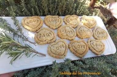 Sablés de la Provence