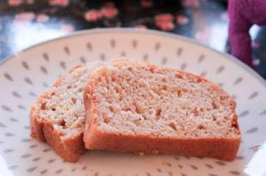 Gâteau vegan à la rose et aux agrumes