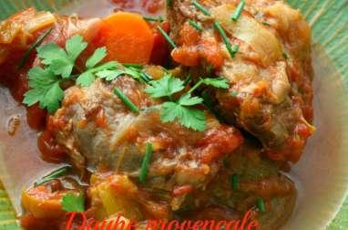 Daube de bœuf à la provençale