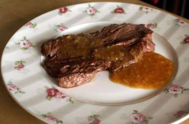 Onglet à l'échalote