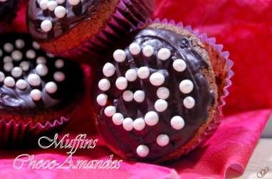 Muffins choco-Amandes