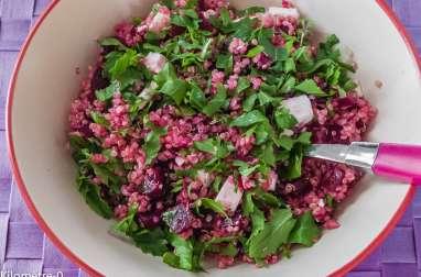 Salade de quinoa, betterave et fêta
