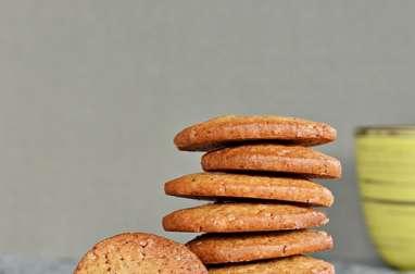Petits biscuits croquants aux épices