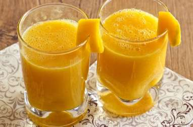 Smoothie Mangue et Agrumes