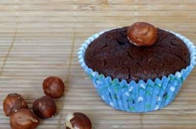 Petits fondants chocolat noisettes sans gluten